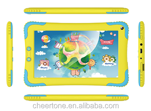 7inch Android 4.4 Google Play Kid Learning Toy Tablet PC
