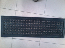 manufacture supply customs rubber mat for stairs