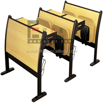 Step Furniture University Study Table Chair College Study Desk and Chair Classroom Step Chair