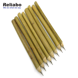 Reliabo Promotions Eco Friendly Natural Bamboo Ballpoint Pens