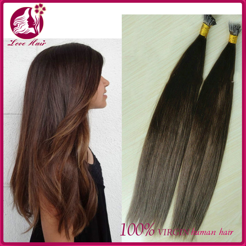Straight I Tip Hair Extensions U Tip Malaysian Human Hair Extensions Virgin Hair Extensions Bonding