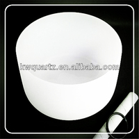 fused silica quartz crystal singing bowl from china supplier