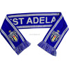 Cheap Jacquard Knitted Double Layers Muffler Custom Sport Club Football Soccer Fan Scarf