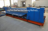 Barrel type metal roofing corrugated sheet forming machine