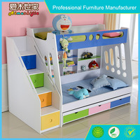 furniture bedroom sets bunk bed, children car bunk bed, girl's bunk bed