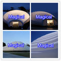 Modern inflatable modular exhibition tent