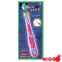 Halloween light spinner wand, light up halloween magic wand light up star wand