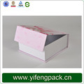 YF custom paper gift packaging magnetic closure boxes