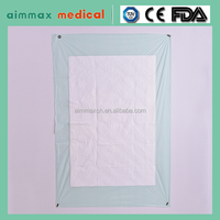 2015 new design disposable bed sheet, disposable medical underpad in hospital