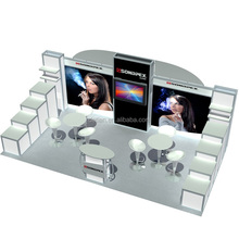 Detian Offer 10x20 exhibition stand design portable tradeshow booths trade show equipment