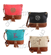 CFP B112 Stocked Leather Personalized Crossbody Leather Purse