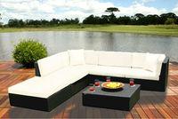patio garden sleeper sofa rattan indoor furniture modern