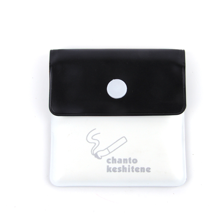 JL-096S disposable pocket cigarette ashtray pouch