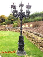 Cast iron victorian street light