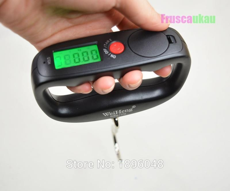 High Quality Portable Fishing Luggage Digital Hand <strong>Scale</strong> 50kg/10g
