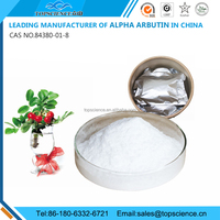 alpha arbutin ( Largest manufacturer of 100% real and pure alpha arbutin in China, CAS NO. 84380-01-8 )
