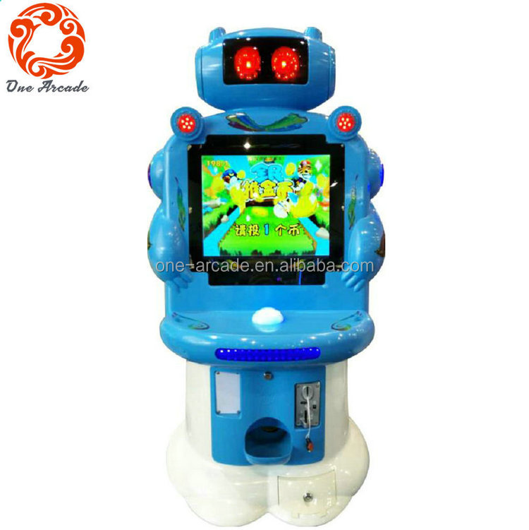 Children Playground Kids Coin Operated Electronic Quiz Game Machine For Kids
