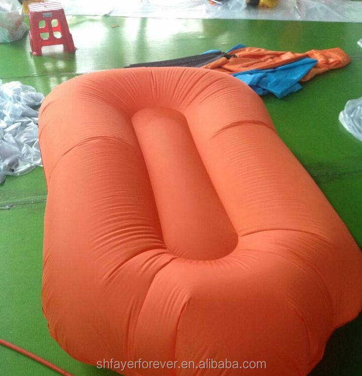 New style air bag lounger sofa sleeping bed inflatable mattress