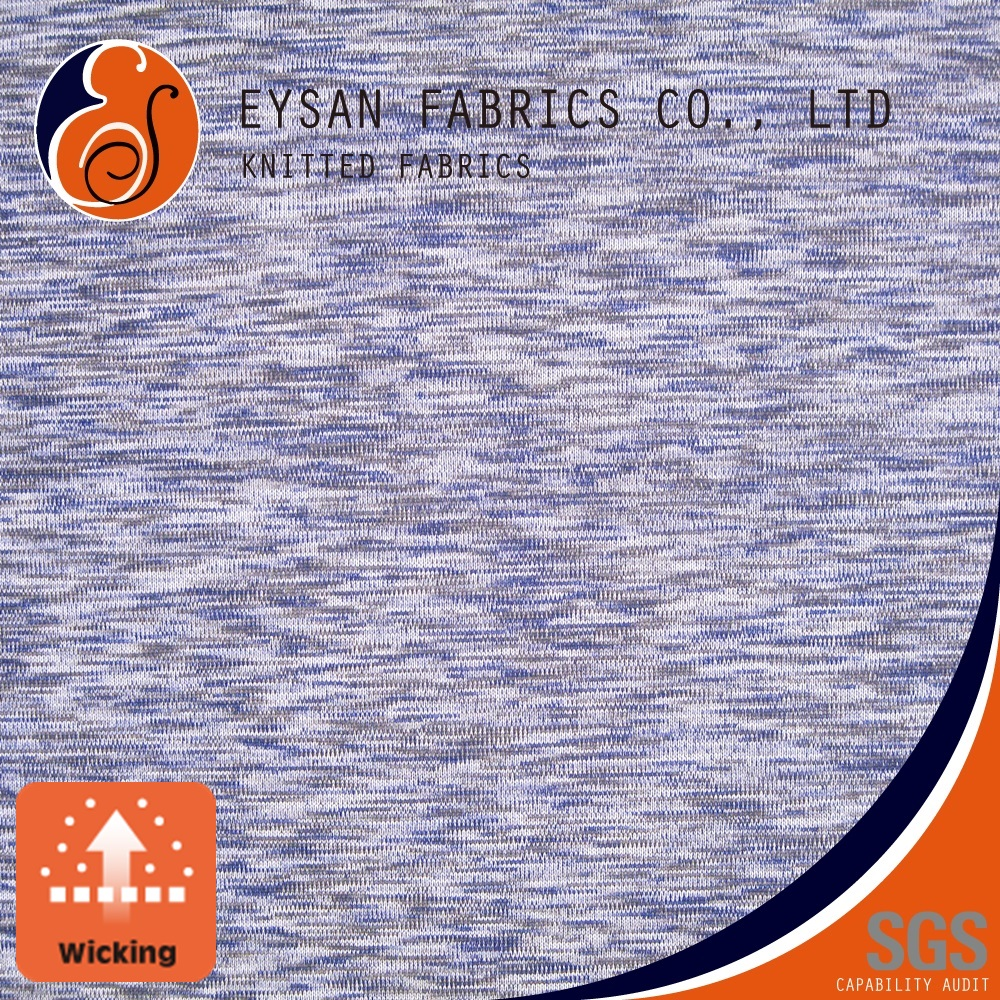 EYSAN Single Jersey 100 Polyester Knitted Moisture Absorption Fabric