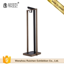 metal hanging clothing racks for retail garment shop interior design