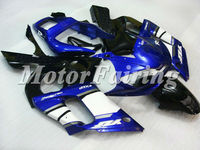for yamaha r6 motorcycle fairing kit 1998 1999 2000 2001 2002 r6 body kit 98-02 r6 fairings r6 race fairings blue black white