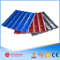 ASA Coated roofing sheets prices resin roof tile