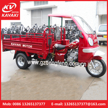 Exporting tricycle with ABS Semi-cabin