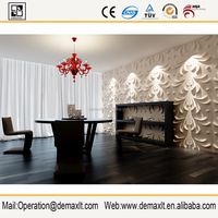 ECO Friendly Modern 3d wall panel smart board lowes cheap wall paneling