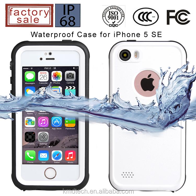 For iPhone 5 SE Waterproof Case for iPhone 5S Waterproof Case for iPhone 5 Waterproof Case