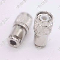 TNC male Crimp Plug Connector for LMR195 RG58 RG142 Cable RF Connector