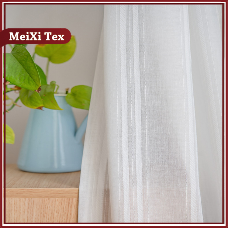 cotton poleyster stripe curtain fabric design curtains japan small curtain products