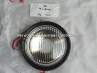 HEADLIGHT FOR TVS THREE WHEELERS