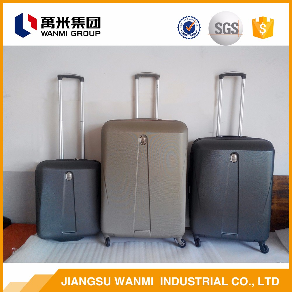 Aluminum alloy rod travel trolley custom luggage cover bag