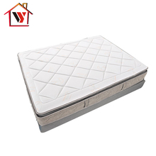 American best selling knitted fabric pillow top spring mattress