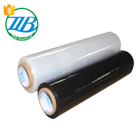 Customized hand stretch film LLDPE Material pe stretch film pallet strech film
