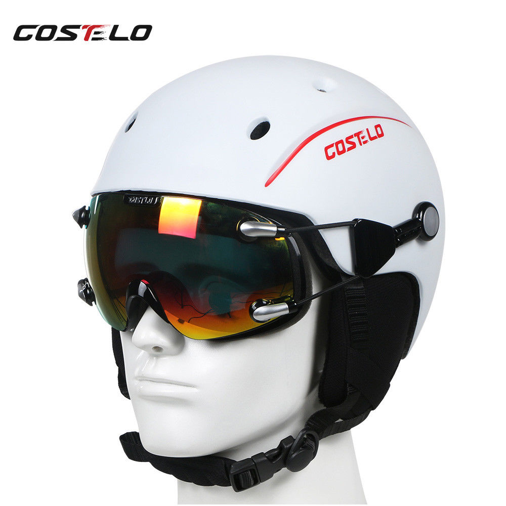 Costelo Outdoor Ski Helmet Cap Skateboard Snowboard goggles Breathable Airwolf