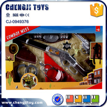 Gunman pretend play gun set plastic revolver cowboy toy guns