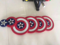 Free Weight PU Coated Captain American Plates, Plates For Wholesale Crossfit ,Weight lifting Plates