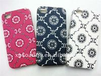 flower plastic skin case cover for iphone 4g 4s