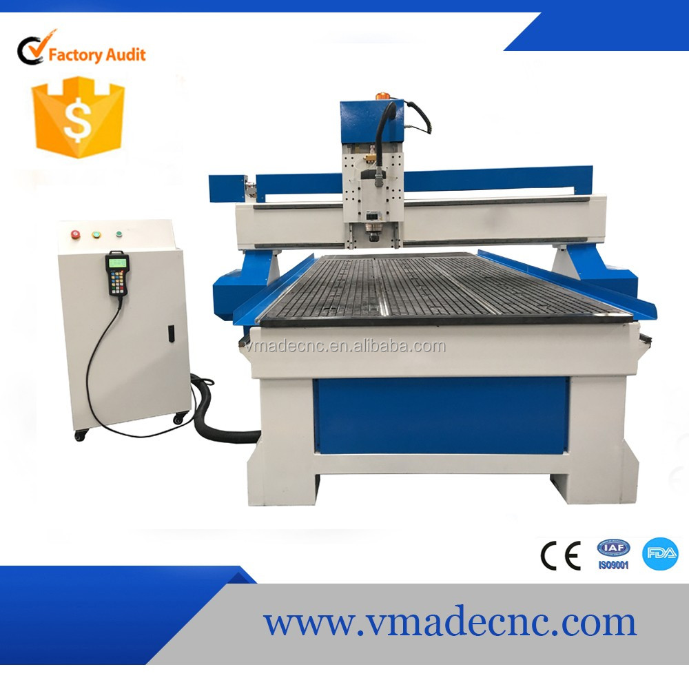high efficiency 3kw spindle motor linear guide way wood cnc router with vacuum table and dust collect cnc