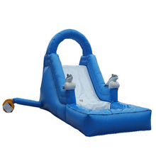 Guangzhou LYT happy hop inflatable shark water slide