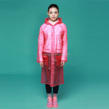 2016 colourful high quality outdoor Hot selling Cheap pvc raincoats women