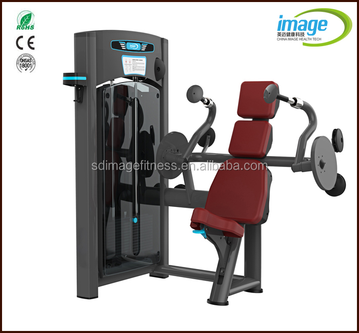 Triceps Press Machine Gym Equipment/Biceps Triceps Machine