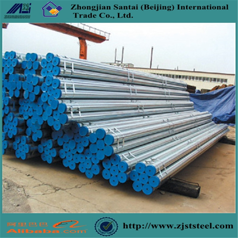Scaffold tubes building material st37 galvanized steel pipe