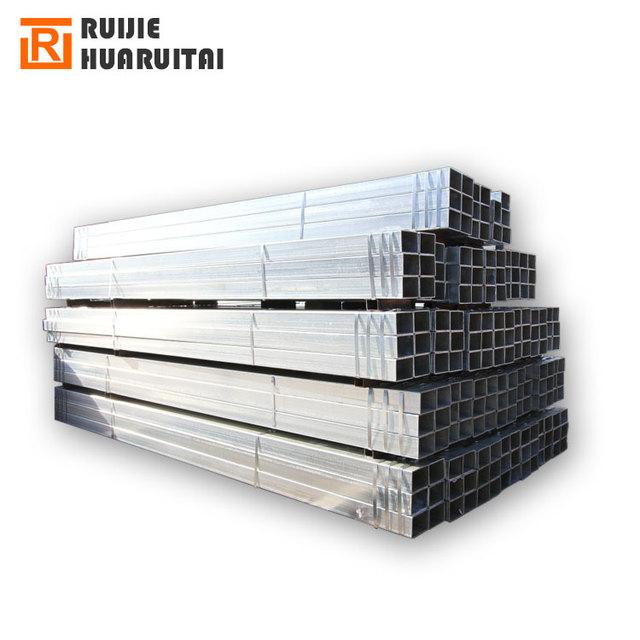 china manufacturers square pipe erw pre galvanized steel pipe galvanized 80*80 square tube