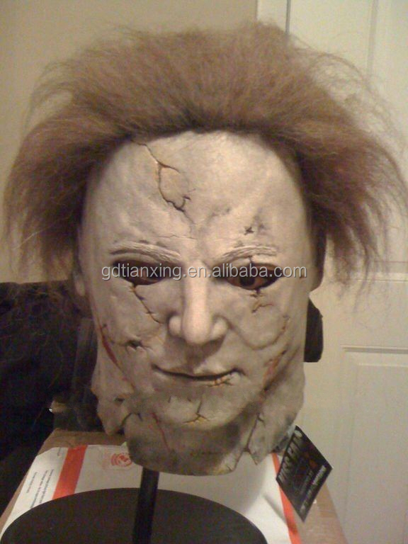 Deluxe Michael Myers Mask Official Halloween 2 Adult Latex Full Head Mask Movie Mask