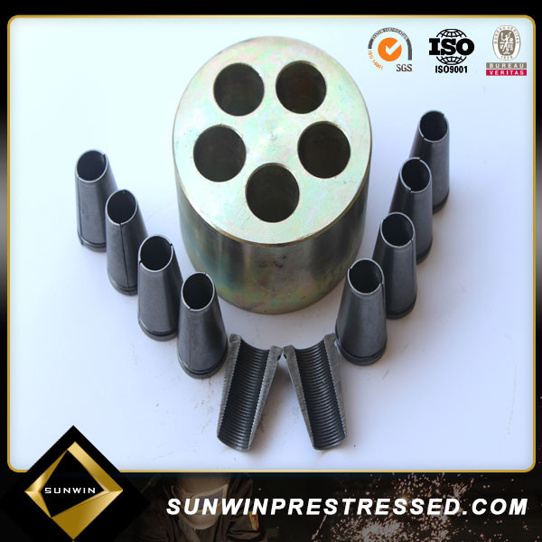 round stressing anchor block made in china