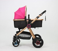 With EN1888 wholesale baby strollers belecoo baby products manufacture X5-pink