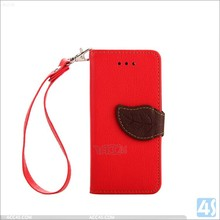 hot selling OEM wholesale leather cover wallet phone case for iphone 5 5s