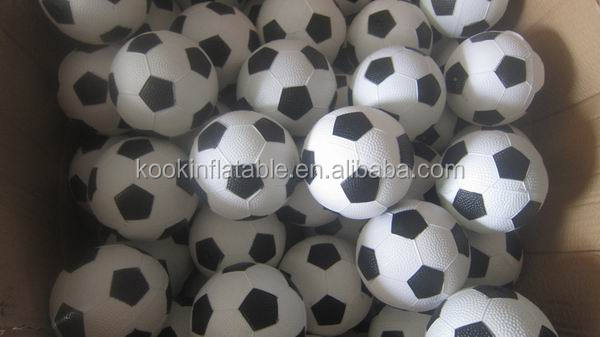 bulk plastic ball plastic soccer ball mini sports ball